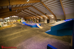 Velosolutions Indoor Pump Track at the 417 Project