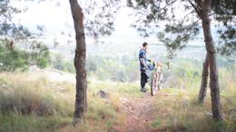 Video: Riding The New Trail In Kochav Yair