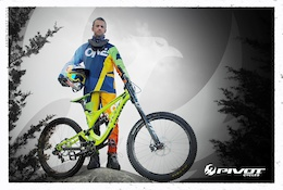 Pivot Cycles Signs Freeride Pioneer Aaron Chase
