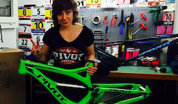 Pivot Cycles Factory DH Team for 2015