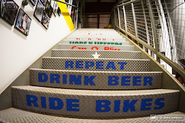 East Bound and Down: Beers + Bikes = Oskar Blues
