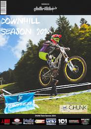 Downhill Season 2014: Chunk Team Photo Magazine