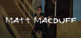 Video: Matt MacDuff - Hit the Roof