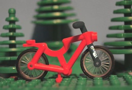 Video: How to Be a Lego Mountain Biker