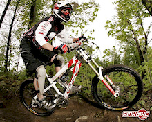 Cycles Devinci and  Adrienne Miller: On the downhill run again for 2007…