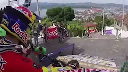 Video: Slavik and Polc Test the Track in Santos, Brazil