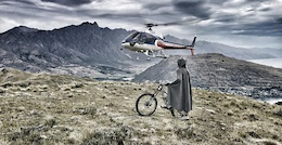 Video: The Hobbit Goes Heli Biking