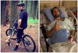 Rider Down: Ken Perras' Bike Accident Recovery Fund