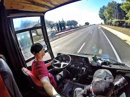 Video: Sam Pilgrim Bangers Tour - Bus Check