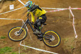 Sam Hill's Nukeproof Mega and Prototype DH Bike - Crankworx Rotorua
