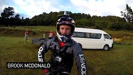 Video: DH Course Preview with Brook MacDonald - Crankworx Rotorua