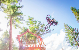 Slopestyle After the Storm - Crankworx Rotorua Slopestyle Photo Epic