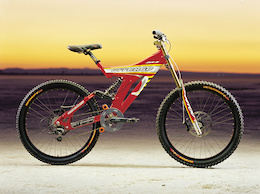 Neko Mulally Races a Retro Painted Intense Downhill Bike to Fundraise for More Kids on Bikes