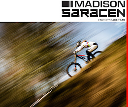 Madison Saracen Factory Team: 2015 British Downhill Series - Round One, Ae Forest