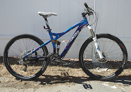 2008 Specialized StumpJumper FSR Comp Medium Blue/Red For Sale