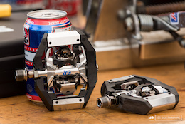 Prototype Shimano DH Pedal - Lourdes World Cup