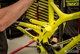 Commencal's Prototype DH Bike - Lourdes World Cup