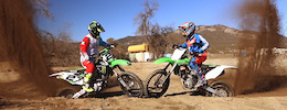 Video: Jeremy McGrath and Mitch Ropelato Let It Rip