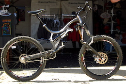 Did You See That? RAM Bikes URT Chassis and Quadrilateral Fork - Sea Otter 2015