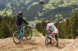 Video: Digging the Lenzerheide World Cup Track, Part 1