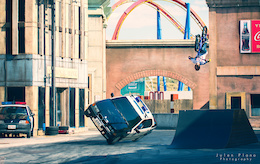 Video: Street Trials Riding at Warner Brothers' Theme Park