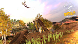Shred Downhill Mountain Biking Video Game - New Content Available