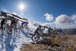 Video: Snow and Carnage - Bluegrass Enduro Tour - Glencoe, Scotland