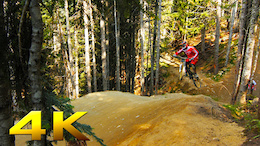 Video: Whistler Bike Park in 4K