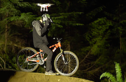 The Night Shoot: Brett Rheeder Rides Coast Gravity Park