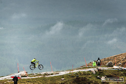 Fort William Downhill WC 2015: Wet Willy - Practice Day