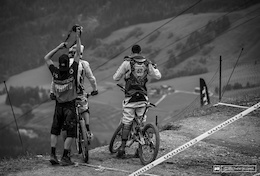 Photo Epic: Coming to Grips with the New Leogang - DH World Cup Qualifications