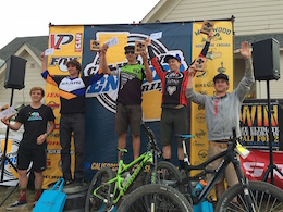 2015 California Enduro Series: Round Two, Pro Podium