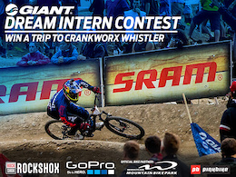 Giant Intern Dream Contest - Win a Trip to Crankworx Whistler