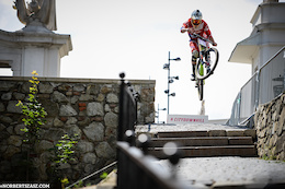 City Downhill World Tour Bratislava - Before the Chaos