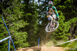 Finals Run: Greg Minnaar Flies Down the Lenzerheide Track