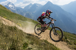 Video: Course Check iXS European Downhill Cup, Les2Alpes