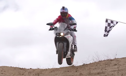 Video: Aaron Gwin Rides Downhill on a KTM Motorcycle