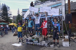 Podium: Big Mountain Enduro Round Two, Keystone