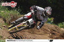 NEMA signs downhill star rider Mick Hannah