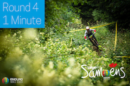 Video: Two Tenths with a Stage to Go: Samoëns EWS Rd 4 One Minute Round-Up