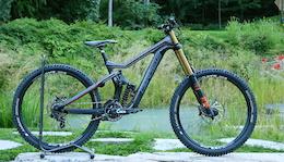 Prototype Morpheus DH Bike - Crankworx Whistler 2015