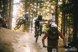 Video: On Board with Loris Vergier - Fox Air DH Mega Train at Crankworx Whistler 2015