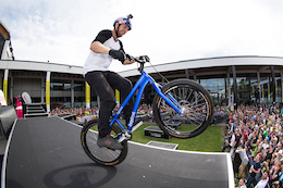 Livigno presents Danny MacAskill's Drop and Roll Tour at Eurobike