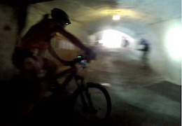 Video: Underground Bike Race in Hungary