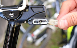 First Look: Magura's Wireless Electronic Dropper Post - Eurobike 2015
