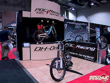PDC Racing at Interbike - The 2004 DH-One