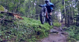 Video: Enduro Dog Dirty Paws in Järvsö