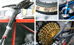 Tech: Juicy Bits From The Pits - XC World Championships Vallnord 2015