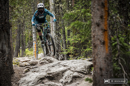 Nate Hills is always looking smooth on his bike and this weekend was no different.