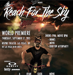 Cam Zink: Reach for the Sky - Film Premiere